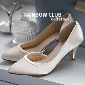 Rainbow Club Brautschuhkollektion